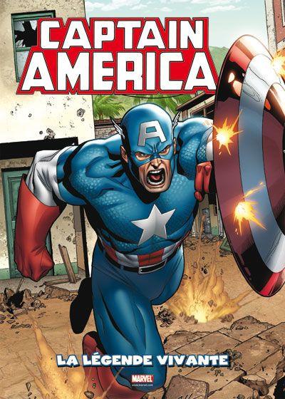 Couverture Captain America ; la légende vivante