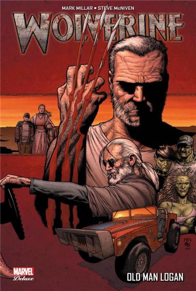 Couverture Wolverine ; old man logan