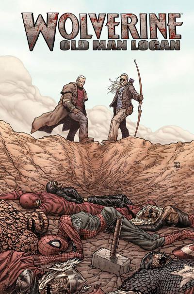Page 2 Wolverine ; old man logan