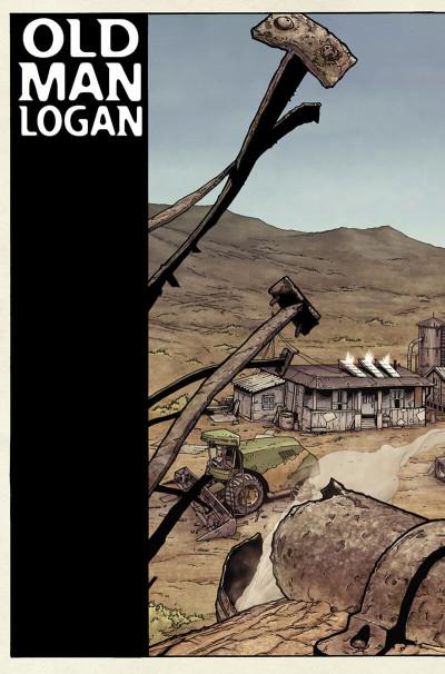 Page 7 Wolverine ; old man logan