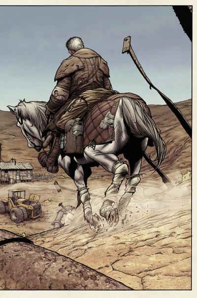 Page 8 Wolverine ; old man logan