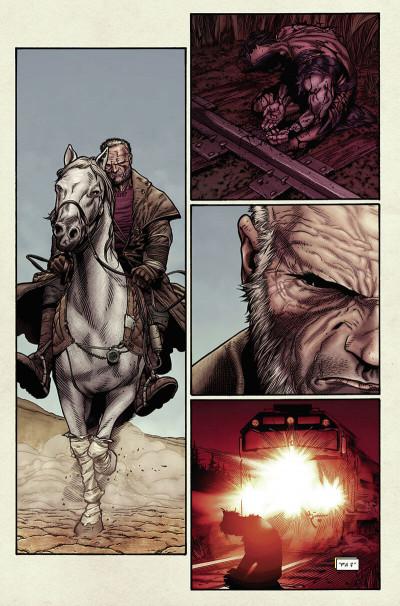 Page 9 Wolverine ; old man logan