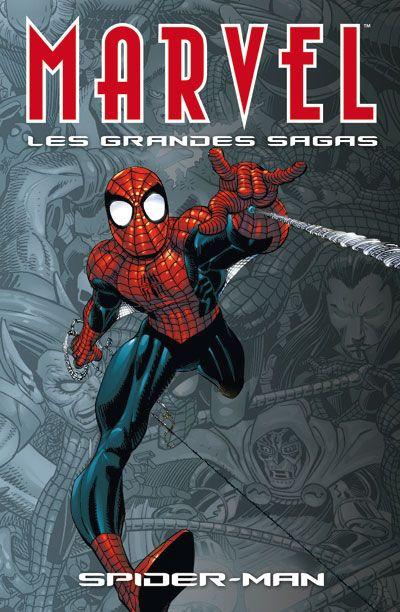 Couverture marvel les grandes sagas tome 1 - spider-man