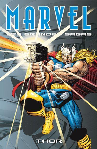 Couverture Marvel - les grandes sagas N.2 ; Thor