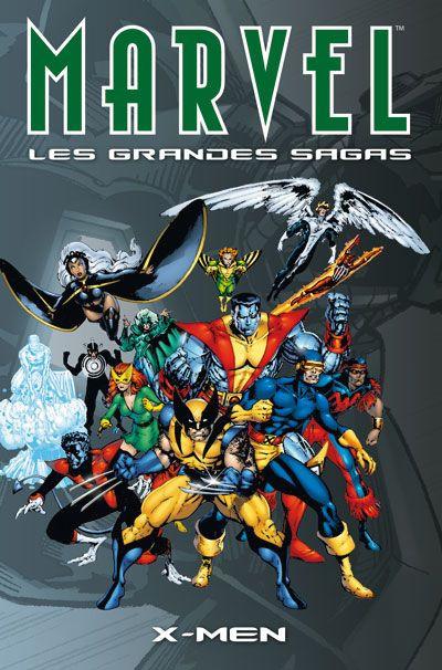 Couverture Marvel - les grandes sagas N.4 ; X-Men