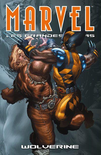 Couverture Marvel - les grandes sagas N.5 ; Wolverine