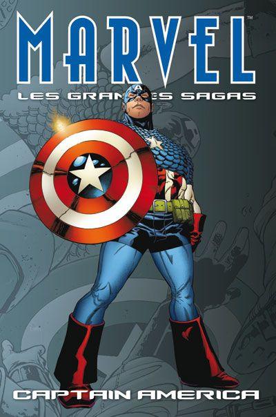 Couverture Marvel - les grandes sagas N.7 ; Captain America