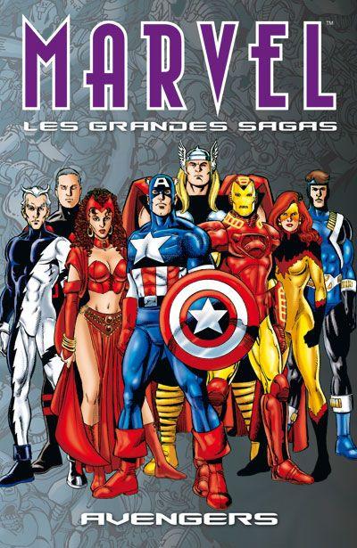 Couverture Marvel - les grandes sagas N.9 ; Avengers
