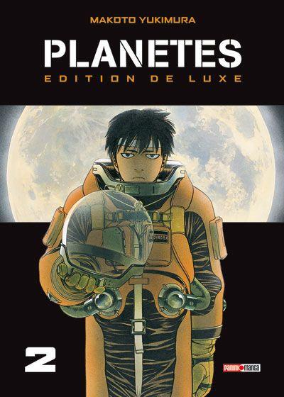 Couverture planètes tome 2 - édition deluxe