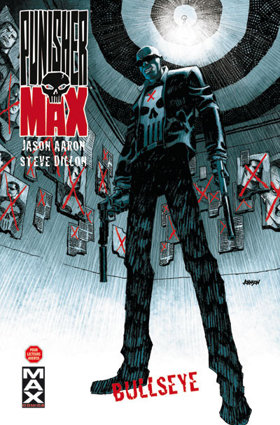 Couverture punisher max tome 2 - Bullseye