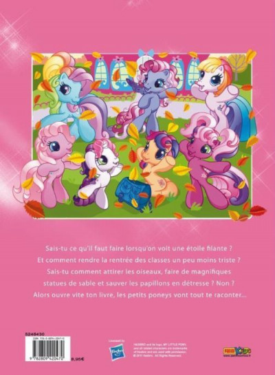 Dos My little pony (Panini) tome 3 - Le petit monde de Ponyville