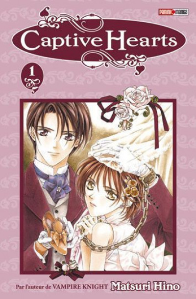 Couverture captive hearts tome 1 - + gomme iwako