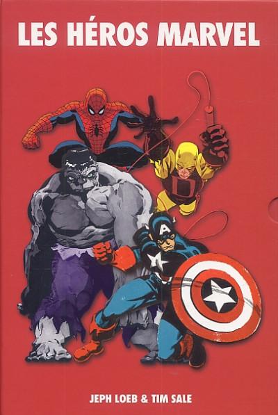Couverture les héros Marvel