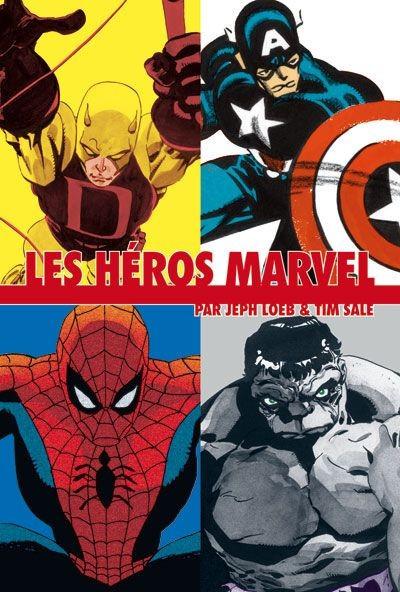 Page 1 les héros Marvel