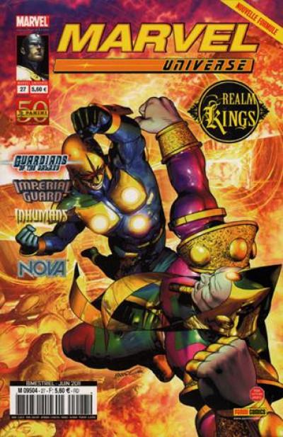 Couverture Marvel universe tome 27