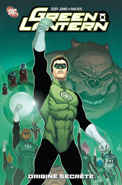 Couverture Green Lantern ; origine secrète