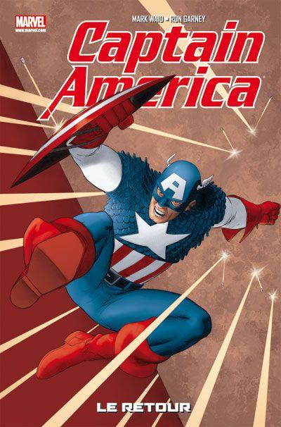 Couverture Captain America T.1 - le retour
