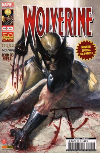 Couverture Wolverine N.209