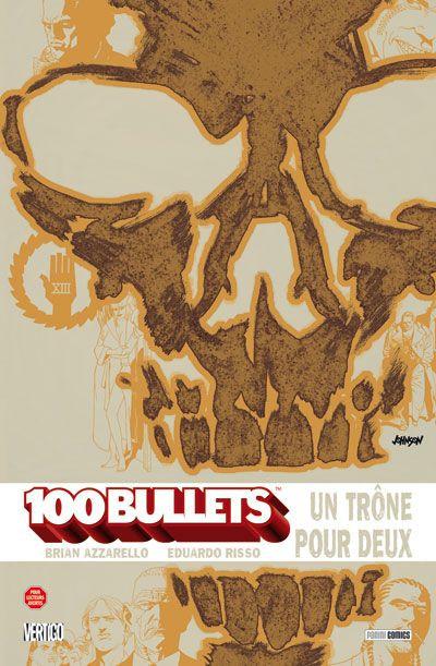 Couverture 100 bullets tome 14 - un trône pour deux