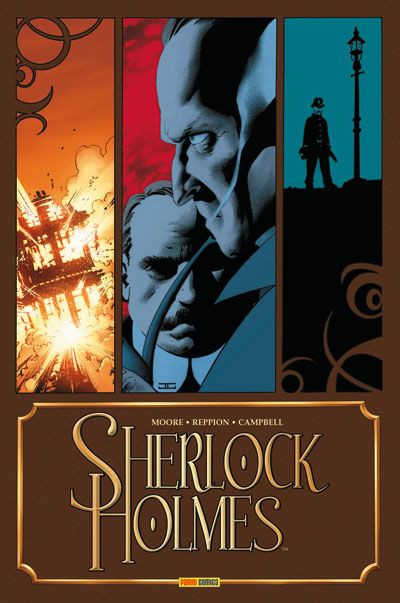 Couverture Sherlock Holmes tome 1