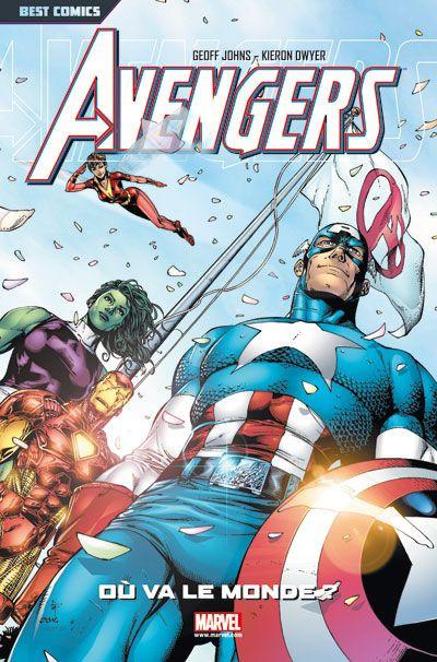 Couverture Avengers ; où va le monde