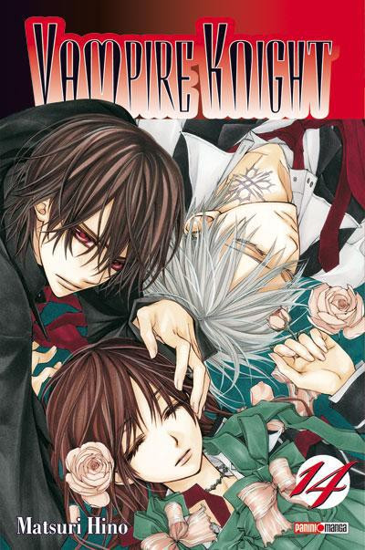 Couverture vampire knight tome 14