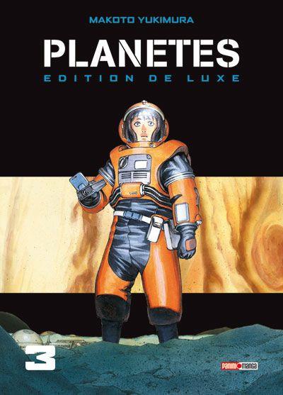 Couverture planètes tome 3 - édition deluxe