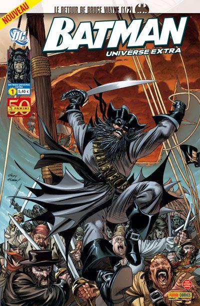 Couverture Batman Universe Extra tome 1