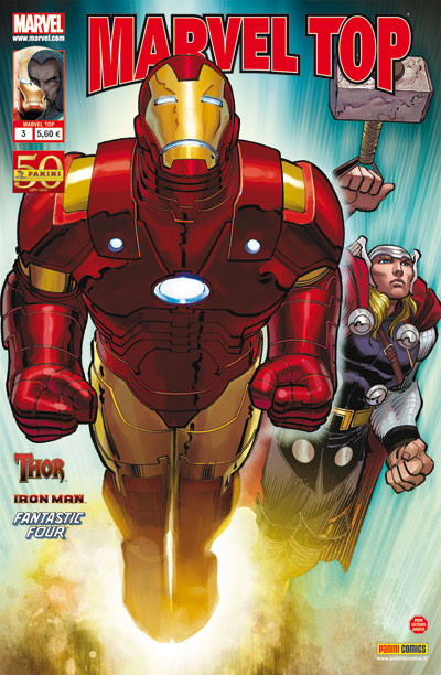 Couverture MARVEL TOP N.3