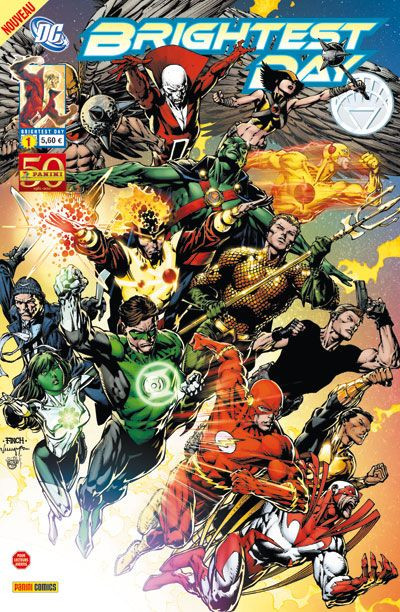 Couverture BRIGHTEST DAY N.1