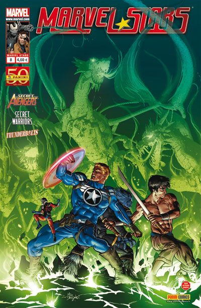 Couverture Marvel Stars N.8