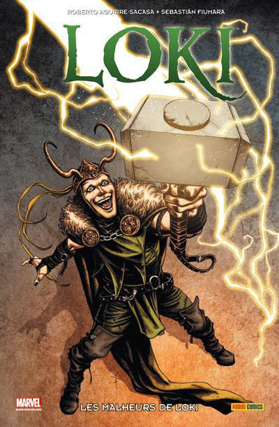 Couverture Loki ; les malheurs de Loki