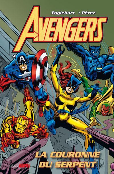 Couverture Avengers ; la couronne du serpent