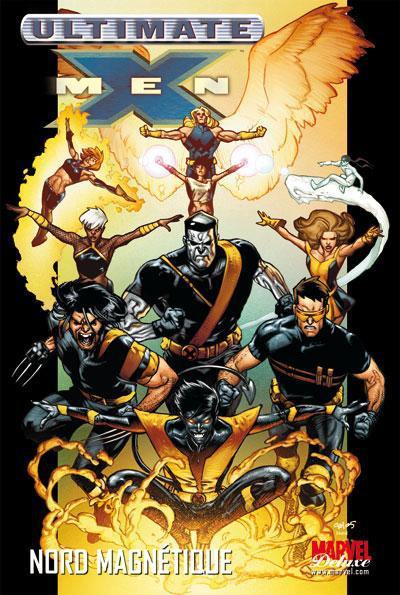 Couverture ultimate X-Men tome 6 - Nord magnétique