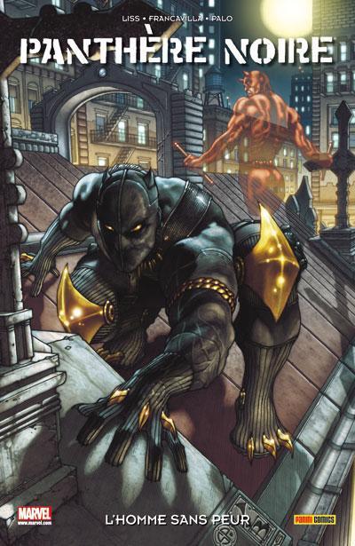 Couverture La Panthère Noire tome 1 - l'homme sans peur
