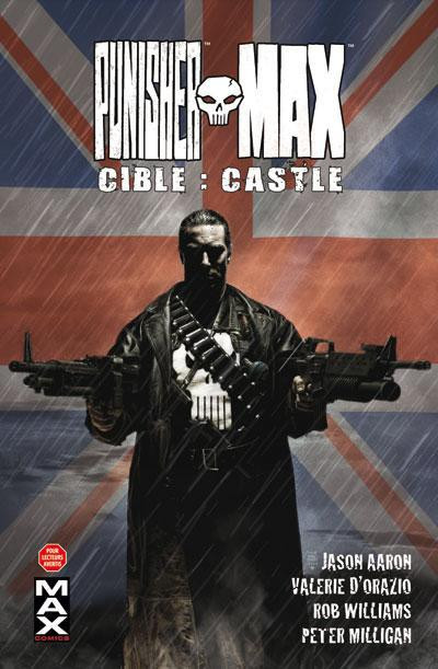Couverture Punisher Max tome 3 - Cible : Castle