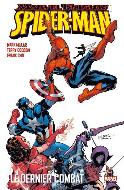 Couverture marvel knights - Spider-man - le dernier combat