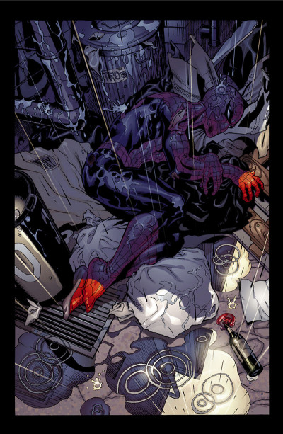 Page 8 marvel knights - Spider-man - le dernier combat
