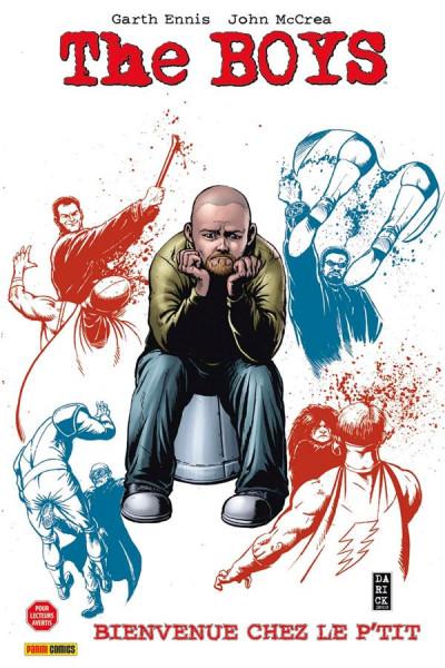 Couverture The Boys - fusion comics tome 13