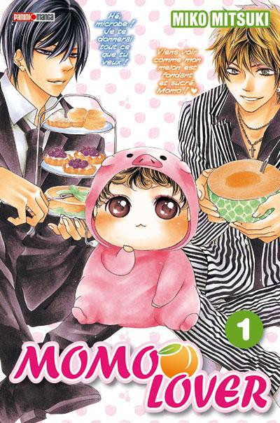 Couverture momo lover tome 1