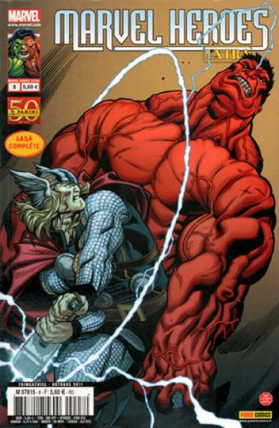 Couverture MARVEL HEROES - EXTRA N.8