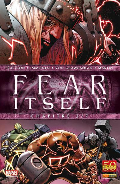 Couverture fear itself tome 2
