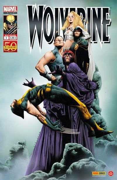 Couverture Wolverine V2 N.5