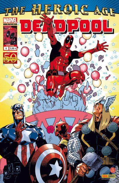 Couverture Deadpool (2è série) tome 6