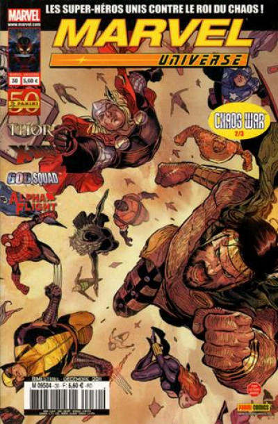 Couverture Marvel Universe N.30