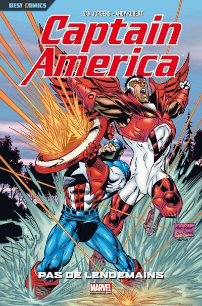 Couverture captain america tome 2 - pas de lendemains