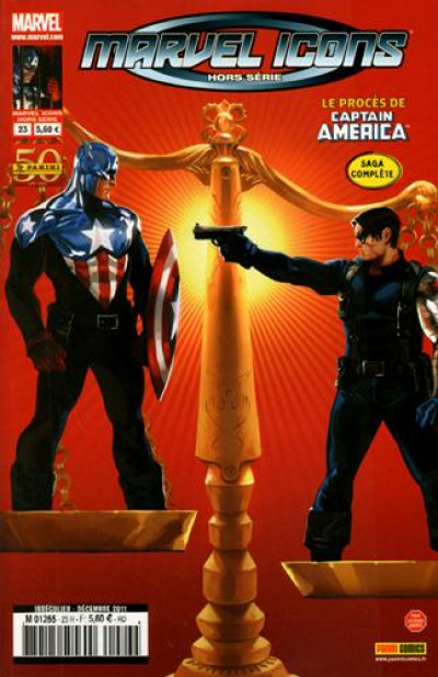 Couverture Marvel Icons HORS-SERIE N.23 ; Captain America
