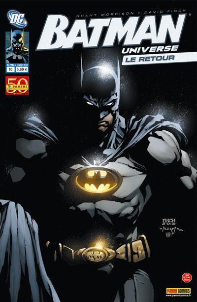 Couverture BATMAN UNIVERSE  N.10
