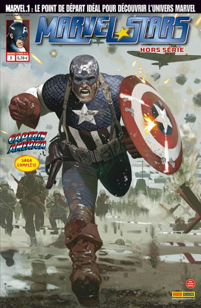 Couverture Marvel Stars N.2 ; captain America