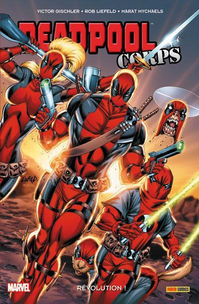 Couverture Deadpool corps T.2 - révolution !